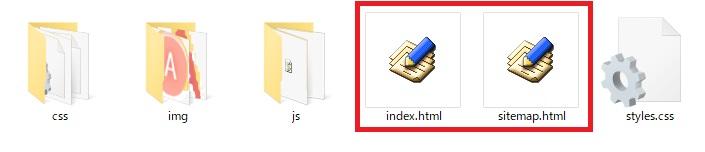 アイコン表示の画像